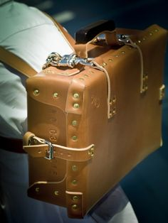 Leather Suitcase No 03 S