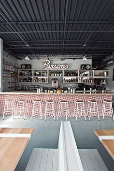 Kaper Design; Restaurant & Hospitality Design Inspiration: Local Favorite; Parson's Chicken & Fish