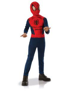 FLASH Deluxe Imbottito musclechest da Uomo Adulti Supereroe Costume
