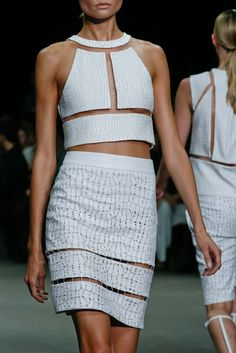 Spring Trend : Cut-Out Chic | Alexander Wang | SS2013 | Style.com
