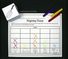 Uber Awesome Rhyming Pack - Playdough To Plato Kindergarten Literacy, Preschool, Rhyming Games, Playdough To Plato, Broken Words, Rhymes For Kids, Teaching Kids, Language, Uber