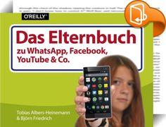Das Elternbuch zu WhatsApp, Facebook, YouTube & Co.    :  Wer selbst nichts mit sozialen Medien am Hut hat, nimmt im Zusammenhang mit WhatsApp, Facebook und Co. meist nur die negativen Schlagzeilen wahr - und möchte sein Kind am liebsten ganz davon fernhalten.  Die Ängste sehen etwa so aus: Häufiger Internetkonsum macht süchtig, Kinder sind auf Facebook Cybermobbing und Betrügern ausgesetzt und werden eh nur abgezockt etc. Doch ein Online-Verbot für den Nachwuchs ist sicher keine gute ...