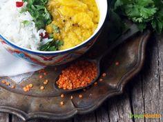 Essenza: Aam Daal (Zuppa indiana di lenticchie e mango)  #ricette #food #recipes