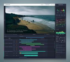 UI & Animation Composer designed by Balraj Chana. Connect with them on Dribbble; the global community for designers and creative professionals. Gui Interface, User Interface Design, Dashboard Design, Ui Ux Design, Dashboard Ui, Chart Design, Ui Animation, Ui Design Inspiration, User Experience Design