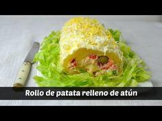 Cuuking! Recetas de cocina: Rollo de patata rellena de atún. Videoreceta