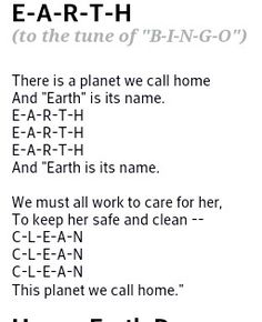 Using earth Earth Day Poems, Earth Day Song, Songs For Toddlers, Kids Songs, Science Toddlers, Earth Day Projects, Earth Day Crafts, Preschool Songs, Preschool Themes