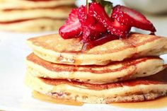 Perfect Diner Pancakes | Tasty Kitchen: A Happy Recipe Community! Pancakes with malted milk powder