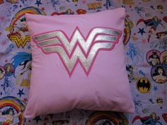 Wonder Woman Pillow Case by CreativeKryptonite on Etsy. $15