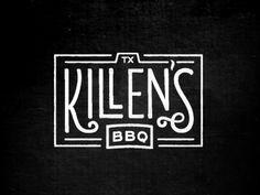 Killen's Barbecue logo    Jody Worthington