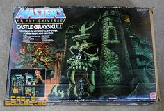 Vintage Castle Grayskull box   He-Man toys