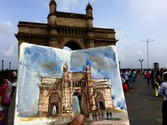 Gateway of India (Mumbai, India), by Ankur Zalawadia