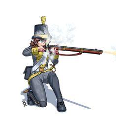 Anime Military, Military Girl, Cute Cartoon, Cartoon Art, Military Drawings, Girls Frontline, Napoleonic Wars, Dieselpunk, Finland