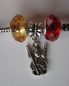 Dumbledore troll bead style necklace