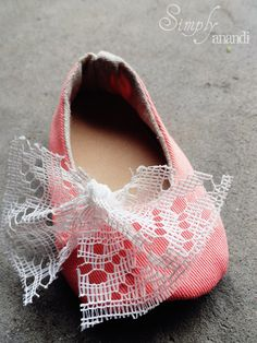 Savanna's flower girl shoes?!  Baby Girl Shoes
