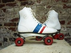 roller skates...first pair of outdoor skates ever! Oh the hours going up and down my driveway.. lol