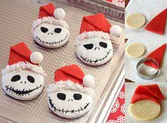 Jack Skellington holiday cookie recipe