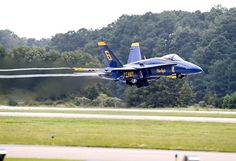 Blue Angels F-18 Low Pass - Airplane Poster - Plane Print - Military Jet Photo