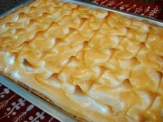 Mennonite Girls Can Cook: Lemon Pie by the Yard-double size( uses 2 mixes and 2 pie crusts