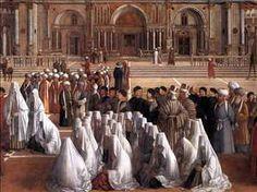 Sermon of St Mark in Alexandria  by GIOVANNI BELLIN