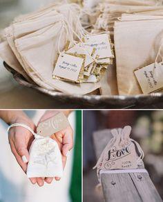tea bags rustic fall wedding favor ideas 2014