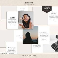 the minimalist series | paislee press | Bloglovin'