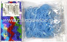Fairy Pastel Turquoise Blue (Sweets) | Rainbow loom