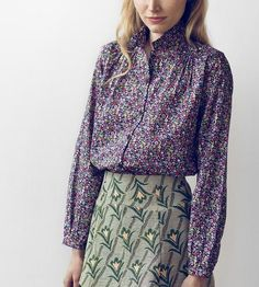 Arbanville Fruit Print Shirt by Family Affairs