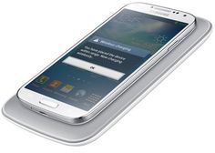 WIRELESS CHARGING PAD AND COVER FOR SAMSUNG GALAXY S4 NOW AVAILABLE Posted on Jun 9, 2013  Samsung has just announced its official wireless charging kit for the Samsung Galaxy S4. It consists of a replacement back cover ...
