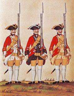 Hanover in the Seven Years War: Infantry Regiments of von Zastrow senior, von Zastrow junior and von Sporcken by Karsten