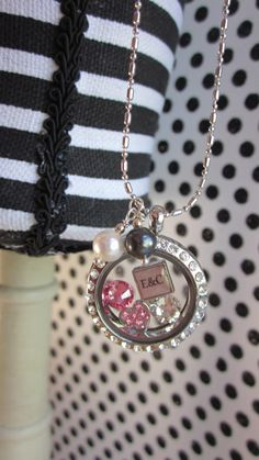 Floating charm locket for a couple using by DangleJangleDesigns, $43.00