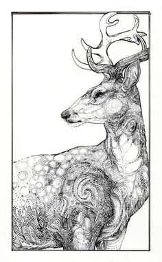 deer - could use pose as basic deer. decorate with xmas junk
