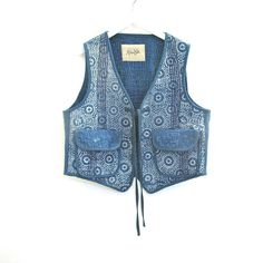 A Madame Hall One Only Quilted Vest by MadameHall on Etsy, $99.00
