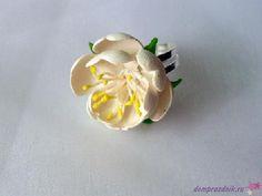 Подарок своими руками из полимерной глины: Кольцо «Весна»