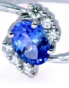 Rich  Blue-Sapphire Angel-Jewels. Pretty