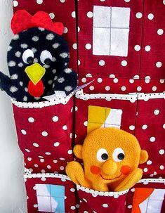 Made by Irinelli: Домик для кукол-рукавичек