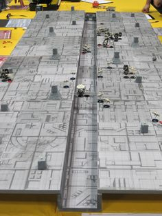 Nice set for Death Star Trench Star Wars Miniatures game. X Wing