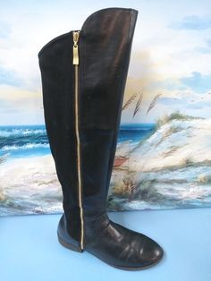 93942f9820c Christian Siriano Over the Knee Black Boots Women's Sz 12 #ChristianSiriano  #OverKneeBoots Stylish Boots