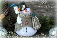 Snowman Crafts, Snowman Ornaments, Snowmen, 100 Diy Crafts, Arts And Crafts, Christmas And New Year, Christmas Crafts, Christmas Ornaments, Handmade Christmas Decorations