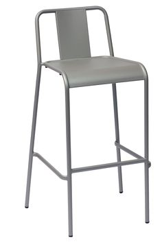 Give Your Commercial Outdoor Seating Area An Style With The Tara X Bar Stool