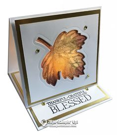 Tea light easel card (card stock, tissue paper, different shape? Thanksgiving Cards, Holiday Cards, Christmas Cards, Stampin Up Christmas, Xmas, Fancy Fold Cards, Folded Cards, Card Making Tutorials, Making Ideas