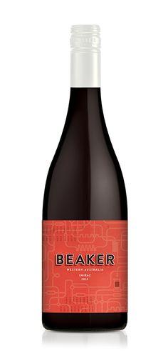Beaker Wines, by Studio Lost & Found - http://www.studiolostandfound.com.au/