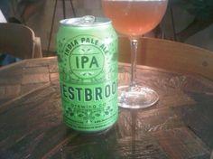 Cerveja Westbrook India Pale Ale, estilo India Pale Ale (IPA), produzida por Westbrook Brewing, Estados Unidos. 6.8% ABV de álcool.