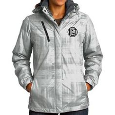 GHC Women's Brushstroke Insulated Jacket   GreenHouseClothing