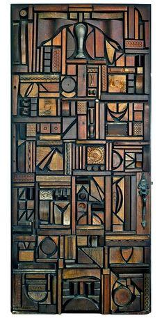 Mabel Hutchinson, door, 1960s
