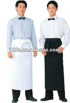 restaurant waiter overalls aprons $4~$25 Restaurant Aprons, Restaurant Uniforms, White Collar, Gypsy, Overalls, Dresses, Fashion, Gourmet, Wedding