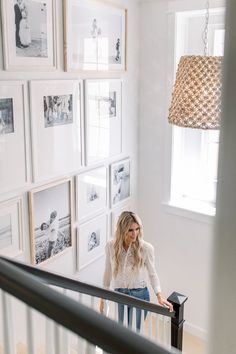 Staircase Gallery Wall Staircase Gallery Wall The post Staircase Gallery Wall appeared first on Fotowand ideen. Gallery Wall Staircase, Gallery Walls, Staircase Wall Decor, Entryway Stairs, Art Gallery, Ikea Hallway, Living Room Gallery Wall, Foyer, Staircase Walls