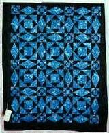 Storm at Sea Quilt -- gorgeous adeptly made Amish Quilts from ...