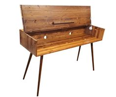 Mid Century Style Keyboard Stand / Desk by OrWaDesigns on Etsy