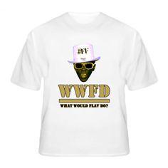 Flavor Flav WWJD What Would Flav Do T Shirt
