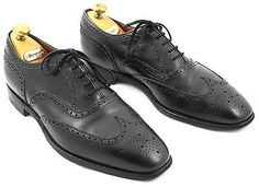 Church's chetwynd 8.5 f #custom #grade black leather brogue eu42.5 #us9.5,  View more on the LINK: http://www.zeppy.io/product/gb/2/272061615378/